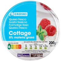Queso cottage 0% EROSKI, 200 g