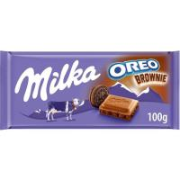 Chocolate de oreo-brownie MILKA, tableta 100 g