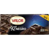 Chocolate negro 92% VALOR, tableta 170 g