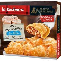 Empanadillas mini de atún LA COCINERA, caja 450 g