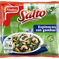 Espinacas con gambas FINDUS Salto, bolsa 500 g