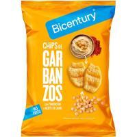 Chips de garbanzos en a. de oliva-pimentón BICENTURY, bolsa 55 g