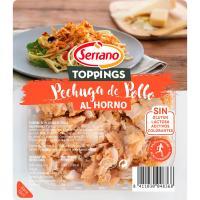 Tiras de pollo al horno SERRANO, bandeja 140 g