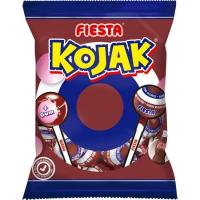 Caramelo de cola relleno de chicle Kojak FIESTA, bolsa 105 g