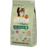 Alimento nograin sterilbuey gato ULTIMA Nature, saco 1,1 kg