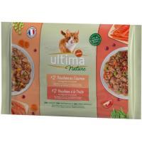 Alimento mpack de buey-pavo gato ULTIMA Nature, paquete 340 g
