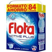 Detergente en polvo FLOTA, maleta 84 dosis