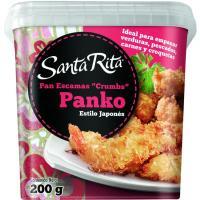 Pan de escamas estilo japonés Panko SANTA RITA, bote 200 g