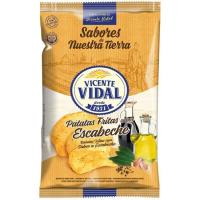 Patatatas fritas escabeche VIDAL, bolsa 135 g