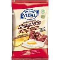 Patatas al huevo frito-jamón VIDAL, bolsa 135 g