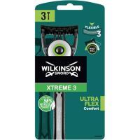 Maquinilla desechableUnflex WILKINSON Xtreme3, pack 3 uds.