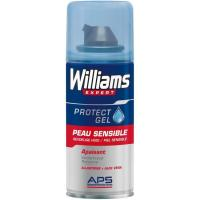 Gel de afeitar mini piel sensible WILLIAMS, spray 75 ml
