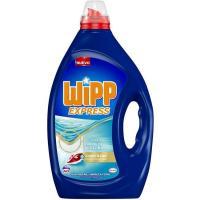 Detergente gel limpio y liso WIPP, garrafa 40 dosis