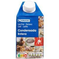 Leche condensada EROSKI, brik 650 g