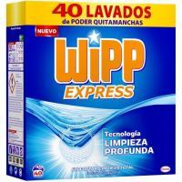 Detergente en polvo azul WIPP, maleta 40 dosis