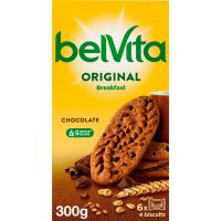 Galleta Belvita de chocolate FONTANEDA, caja 300 g