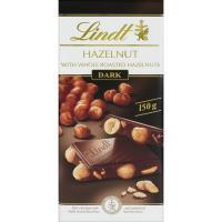 Chocolate Les Grandes negro-avellana LINDT, tableta 150 g