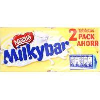 Chocolate blanco MILKYBAR, pack 2x100 g