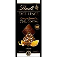 Chocolate passion orange almond LINDT Excellence, tableta 100 g