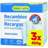 Recambio Neutro HUMYDRY, pack 3 uds
