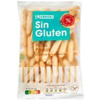 Picos sin gluten EROSKI, bolsa 100 g