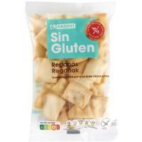 Regañas sin gluten EROSKI, bolsa 100 g