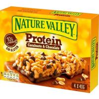 Cereales protein peanut&chocolate NATURE VALLEY, caja 160 g