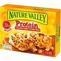 Cereales protein salted caramel nut NATURE VALLEY, caja 160 g
