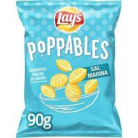 Poppables de patata a la sal LAY`S, bolsa 90 g