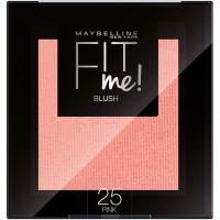 Colorete mate Fit Me tono 25 Pink MAYBELLINE, pack 1 ud.