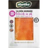 Salmón ahumado reducido en sal MARTIKO, sobre 80 g
