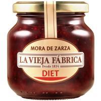 Mermelada de mora LA VIEJA FÁBRICA Diet, frasco 350 g