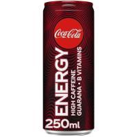 Bebida energética COCA COLA Energy, lata 25 cl