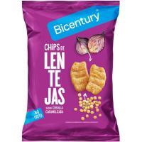 Chips de lentejas BICENTURY, bolsa 55 g