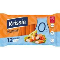 Barritas de surimi 0% materia grasa KRISSIA, bandeja 180 g