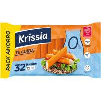 Barritas de surimi 0% materia grasa KRISSIA, bandeja 480 g