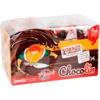 Sobaos de chocolate con pepitas JOSELÍN Chocolín, paquete 240 g