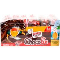 Sobaos de chocolate con pepitas JOSELÍN Chocolín, paquete 360 g