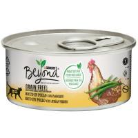 Alimento húmedo mousse de pollo gato BEYOND G. Free, lata 85 g