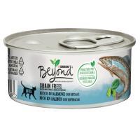 Alimento húmedo de salmón Grainfree BEYOND Purina, lata 85 g