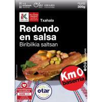 Redondo en salsa OTAR, bandeja 300 g