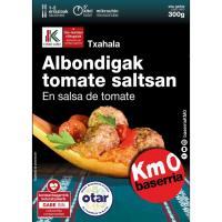 Albóndigas salsa tomate OTAR, bandeja 300 g