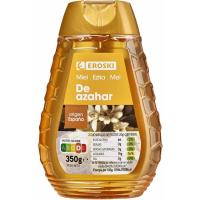 Miel de azahar EROSKI, dosificador 350 g
