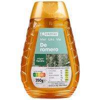 Miel de romero EROSKI, dosificador 350 g