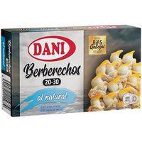 Berberechos Rías Gallegas 20/30 DANI, lata 83 g