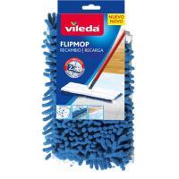 Mopa con palo flip recambio VILEDA, pack 1 ud
