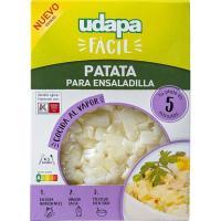 Patata para ensaladilla UDAPA FÁCIL, bandeja 450 g