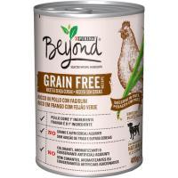 Alimento húmedo de pollo perro adulto BEYOND G. Free, lata 400 g