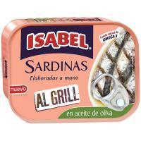 Sardina al grill en aceite de oliva ISABEL, lata 120 g