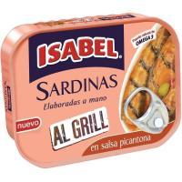 Sardina al grill en salsa picantona ISABEL, lata 120 g